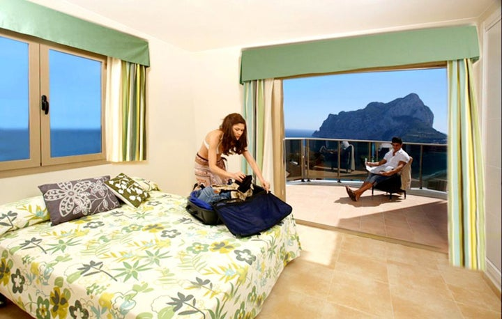 Esmeralda Suites in Calpe, Costa Blanca, Spain