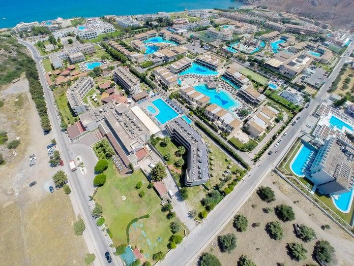 Delfinia Resort Hotel in Kolymbia, Rhodes, Greek Islands