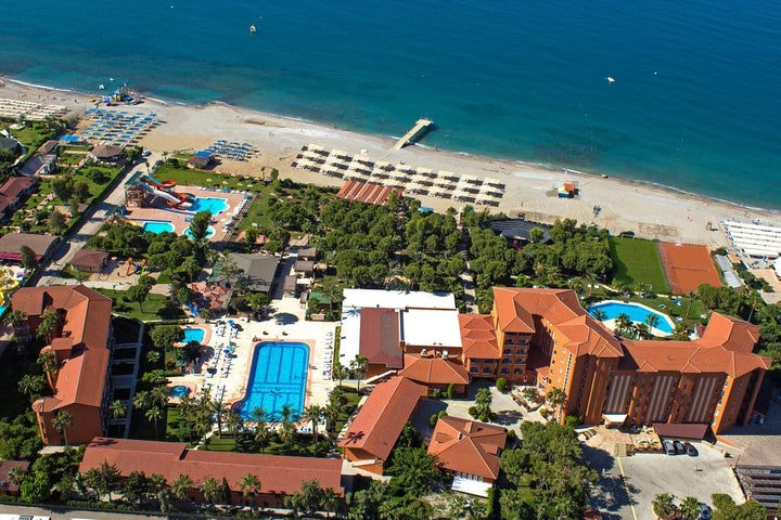 Club Turtas Beach in Alanya, Antalya, Turkey