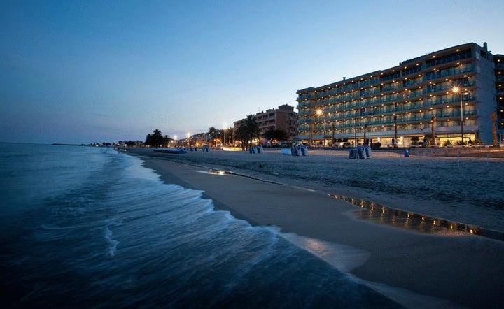 Allon Mediterrania Hotel in Villajoyosa, Costa Blanca, Spain