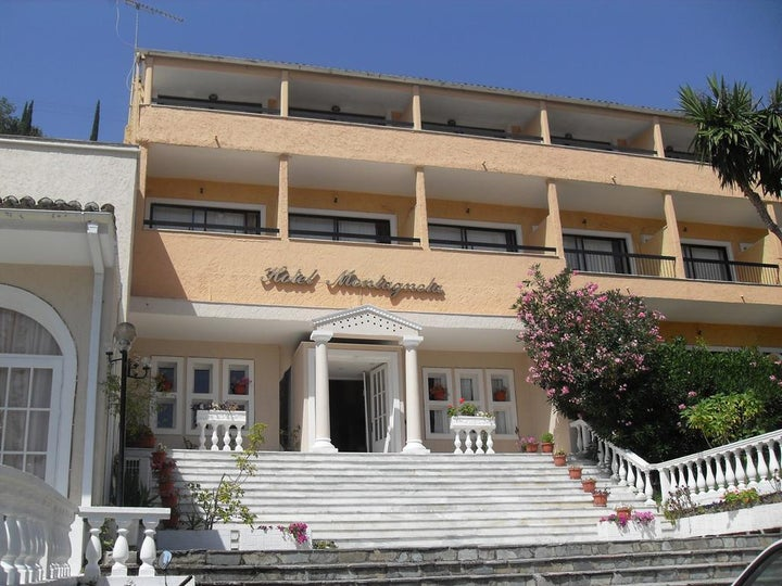 Benitses Bay View Hotel in Benitses, Corfu, Greek Islands