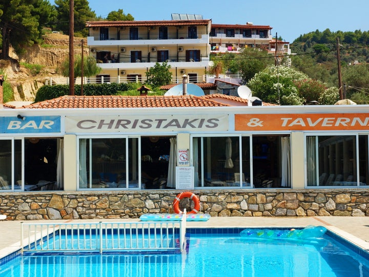 Christakis Studios in Troulos, Skiathos, Greek Islands