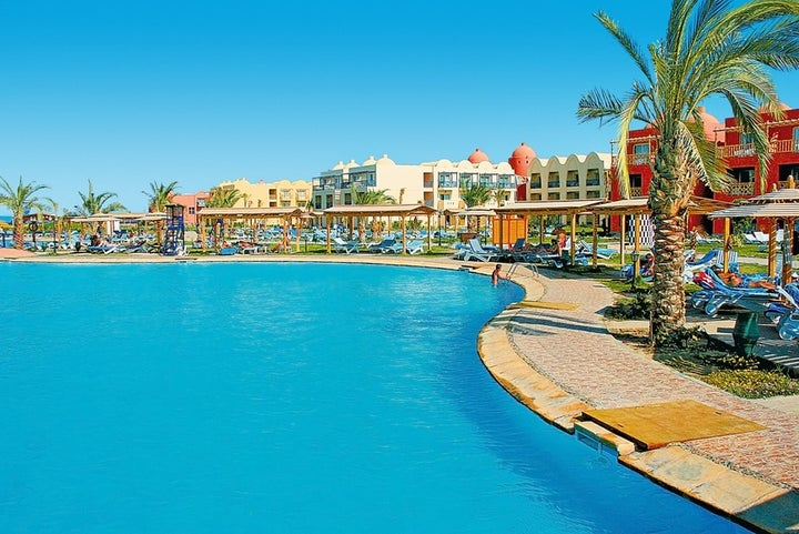 Titanic Beach Spa & Aqua Park in Hurghada, Red Sea, Egypt