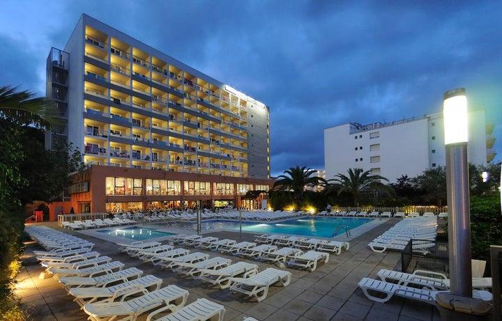 Medplaya Hotel Santa Monica in Calella, Costa Brava, Spain