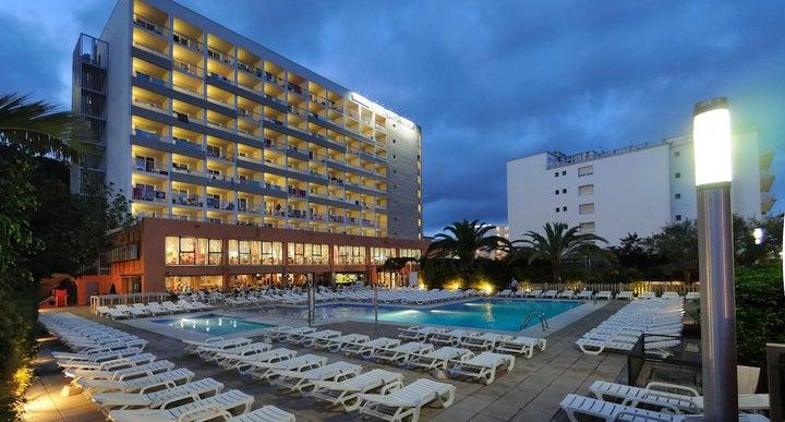 Medplaya Hotel Santa Monica In Calella Costa Brava Spain