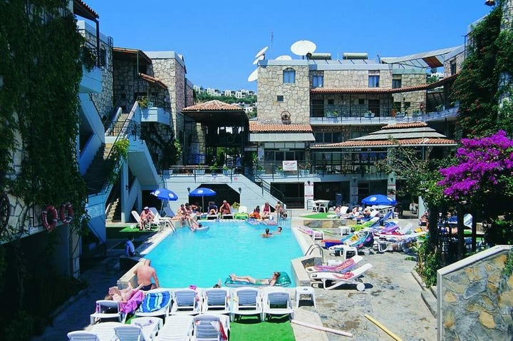 Green House Apartments in Gumbet, Aegean Coast, Turkey