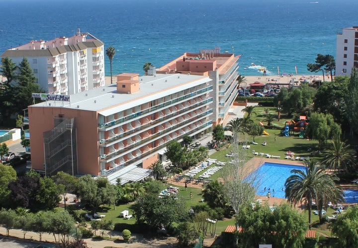 Surf Mar Hotel in Lloret de Mar, Costa Brava, Spain