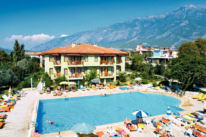 Saray Hotel in Hisaronu, Dalaman, Turkey