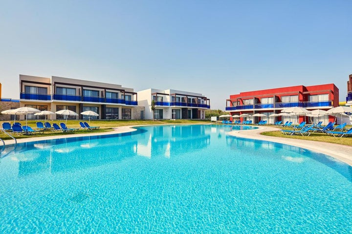All Senses Nautica Blue Resort and Spa in Fanes, Rhodes, Greek Islands
