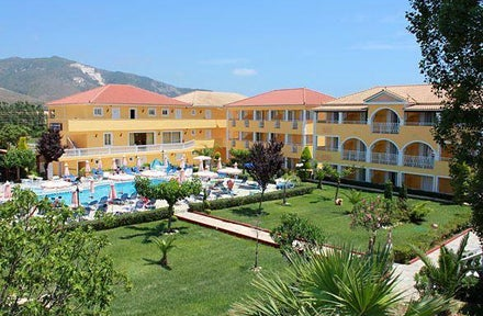 Macedonia Hotel In Kalamaki Zante Greek Islands