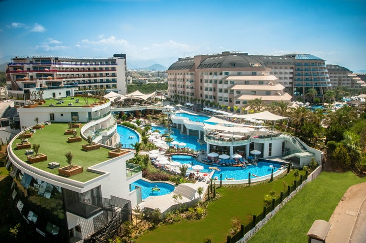 Long Beach Resort in Alanya, Antalya, Turkey
