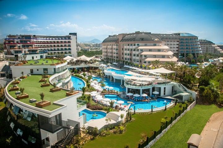 Long Beach Resort in Alanya, Antalya, Turkey