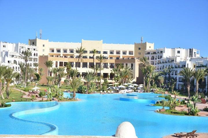 Palais De Rose in Agadir, Morocco