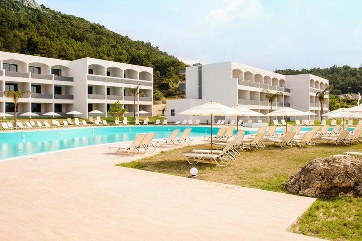 Evita Resort in Faliraki, Rhodes, Greek Islands