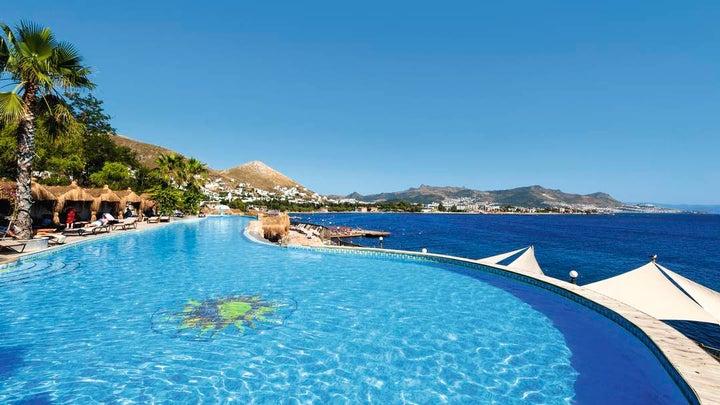 Kadikale Resort And SPA in Turgutreis, Aegean Coast, Turkey