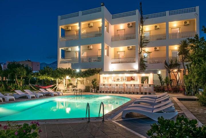 Stella Maria Apartments in Malia, Crete, Greek Islands