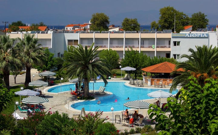 Aethria Hotel in Limenas, Thassos, Greek Islands