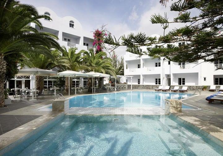 Afroditi - Venus Beach Hotel & Spa in Kamari, Santorini, Greek Islands