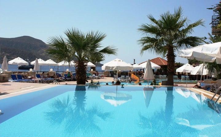 Pirat Hotel in Kalkan, Antalya, Turkey