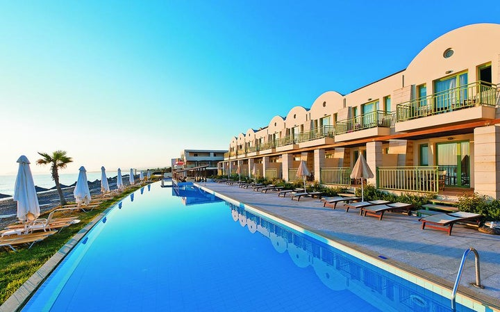 Giannoulis Grand Bay Resort in Kolymbari, Crete, Greek Islands