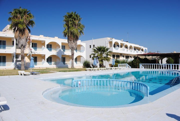 Tivoli Hotel and Apartments in Faliraki, Rhodes, Greek Islands