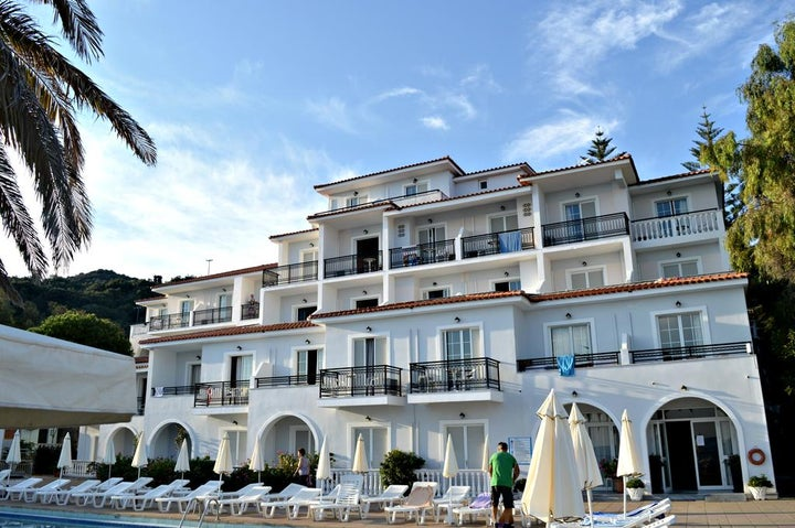 Paradise Beach Hotel in Argassi, Zante, Greek Islands
