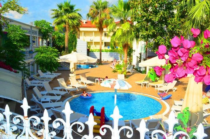 Sunbird Hotel in Side, Antalya, Turkey