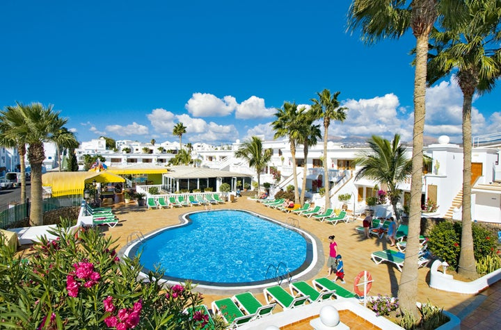 Suite Hotel Montana Club in Puerto del Carmen, Lanzarote, Canary Islands