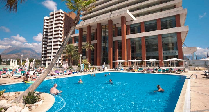 Levante Club Hotel In Benidorm Costa Blanca Spain