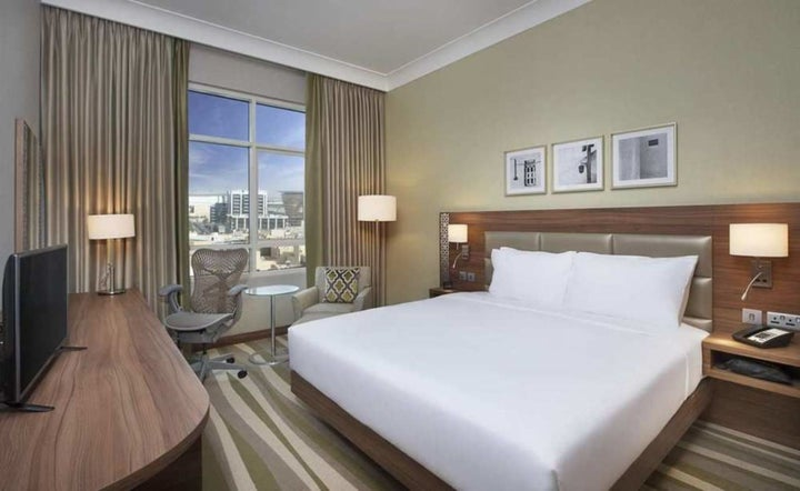 Hilton Garden Inn Dubai Al Muraqabat in Dubai City, Dubai, United Arab Emirates