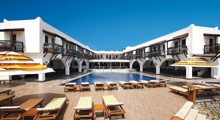 Costa Bitezhan Hotel in Bitez, Aegean Coast, Turkey