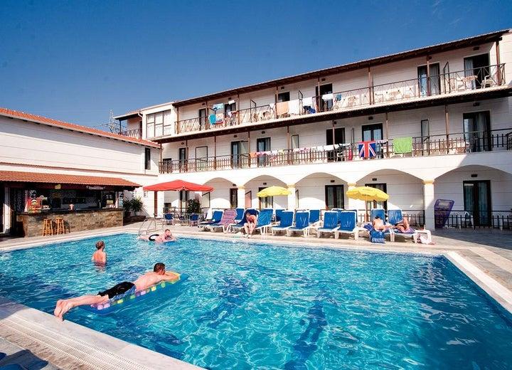 Lefkimi Hotel in Kavos, Corfu, Greek Islands