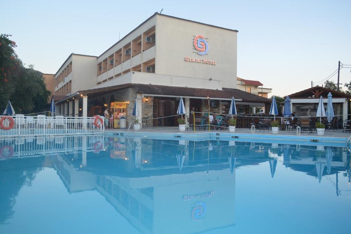 CNic Gemini Hotel in Messonghi, Corfu, Greek Islands
