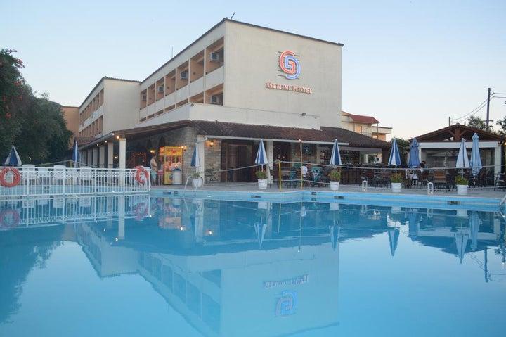 CNic Gemini Hotel in Messonghi, Corfu, Greek Islands