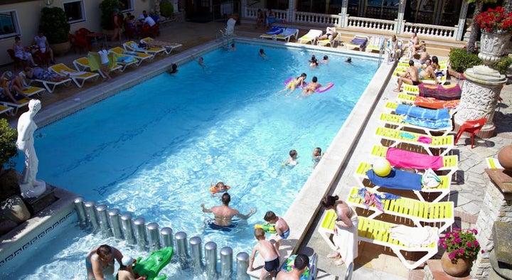 Ibersol Sorra d'Or Beach Club in Malgrat de Mar, Costa Brava, Spain