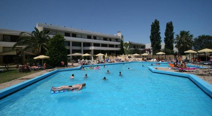 Kallithea Sun & Sky Hotel in Kalithea, Rhodes, Greek Islands
