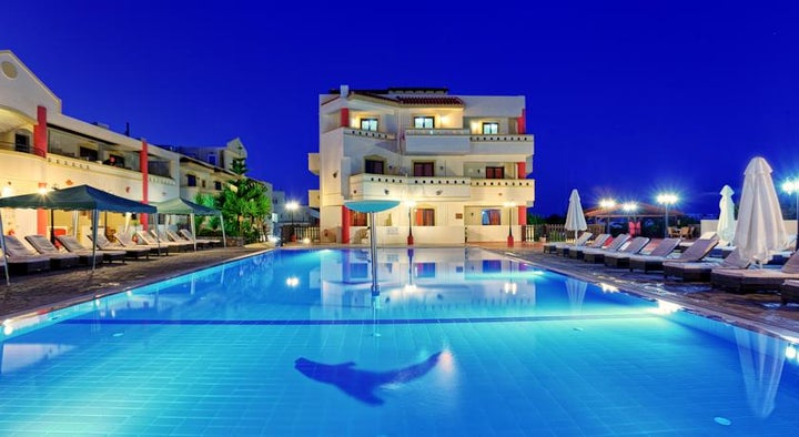 St Constantin Hotel in Gouves, Crete, Greek Islands