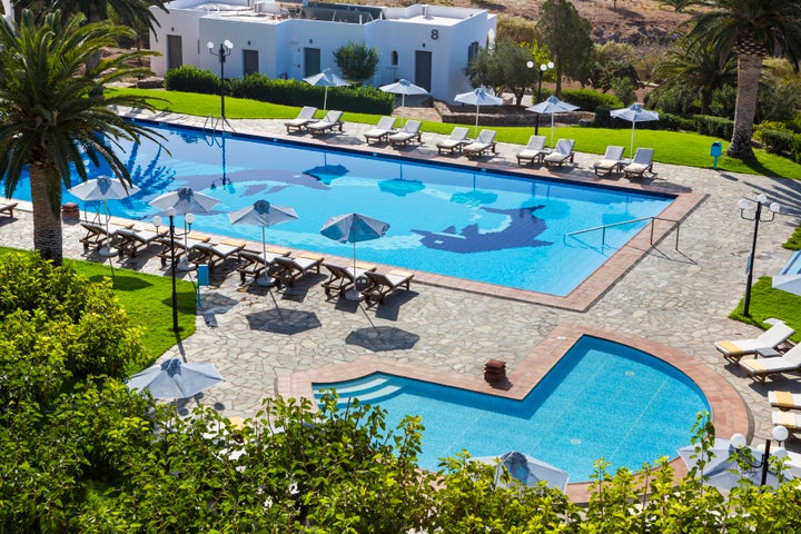 Vritomartis Naturist Resort in Sfakia, Crete, Greek Islands