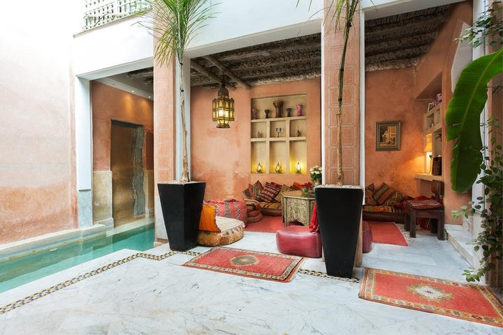 Riad Moullaoud in Marrakech, Morocco