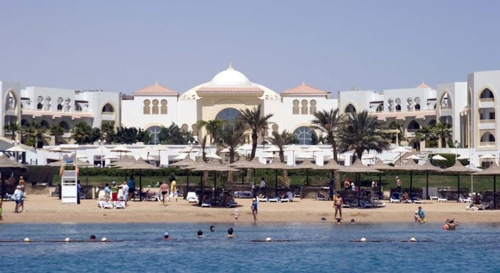 Old Palace Resort in Sahl Hasheesh, Red Sea, Egypt