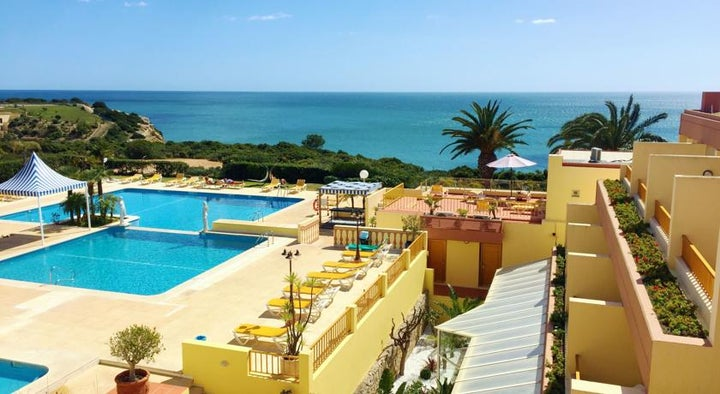 Baia Cristal Beach and Spa Resort in Carvoeiro, Algarve, Portugal