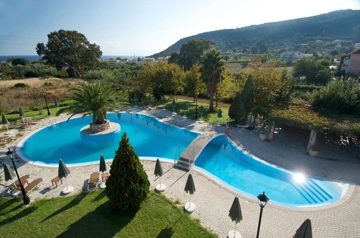 Alkioni Hotel in Katelios, Kefalonia, Greek Islands