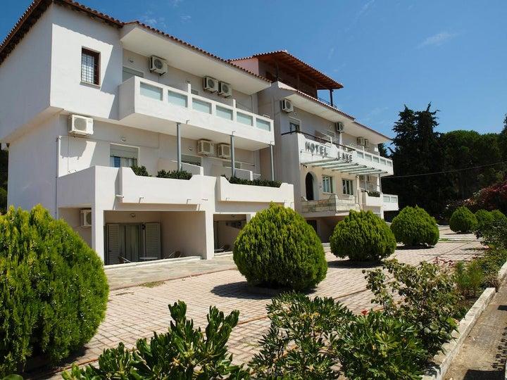 Lake Apartments in Koukounaries, Skiathos, Greek Islands