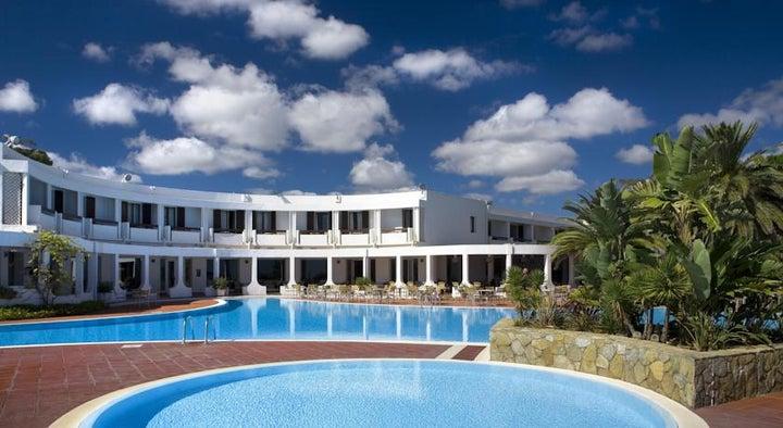 Flamingo Hotel in Santa Margherita di Pula, Sardinia, Italy