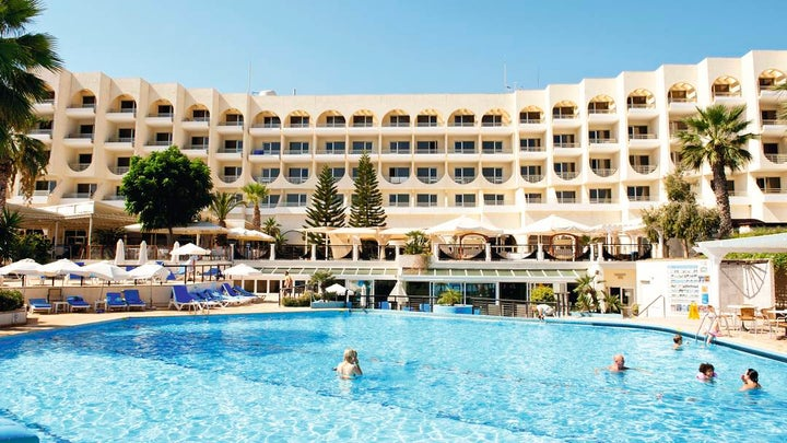 Golden Coast Beach Hotel in Protaras, Cyprus