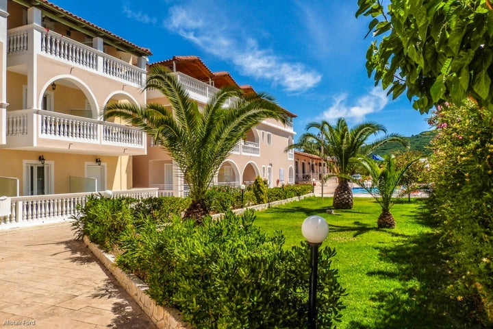 Plessas Palace Hotel in Alikanas, Zante, Greek Islands