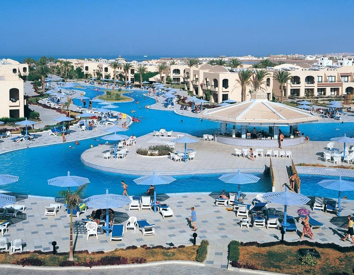 Ali Baba Palace in Hurghada, Red Sea, Egypt