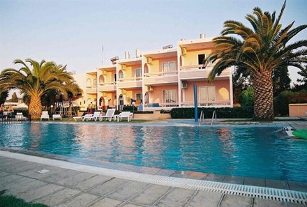 Sea View Studios in Theologos, Rhodes, Greek Islands