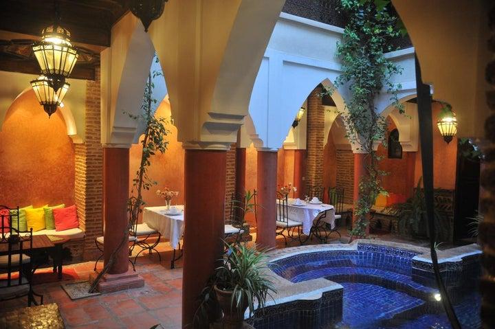 Riad le Plein Sud in Marrakech, Morocco