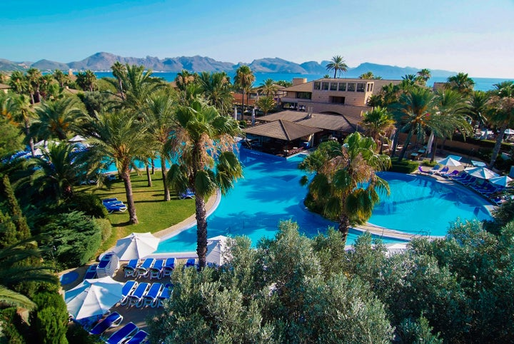 Club Pollentia Resort Portblue in Puerto Pollensa, Majorca, Balearic Islands